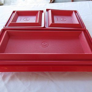 Tupperware Serving Tray Set